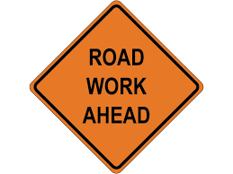 Road Work on Harris Trail
